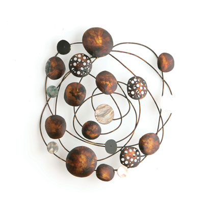 Rustic Wall Sculpture Art  - Metal Wall Arts For Your Bathroom, To Décor Walls of Your Bathroom