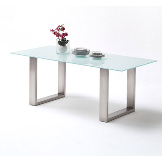 Savona Pure White Deko - How To Find A Ready Made Substitute For A Glass Dining Table Made To Measure