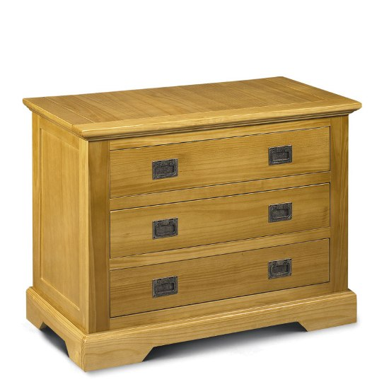Sheraton3Drawer - The Chest Of Drawers: A Tool For Organizing Your Wardrobe