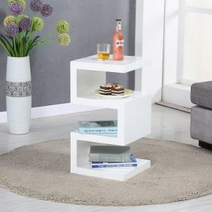 High Gloss Side Lamp Tables Uk