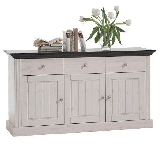 Sideboard White Monaco 31702513 Steens - Home Decorating: White Furniture How To Make Your Room Contrast