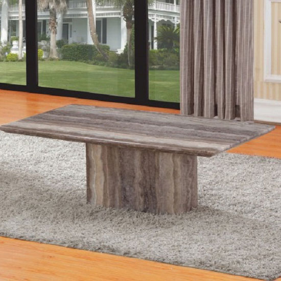 Marble Coffee Table Rectangular: Sophie Rectangular Coffee Table In Marble Effect 23541