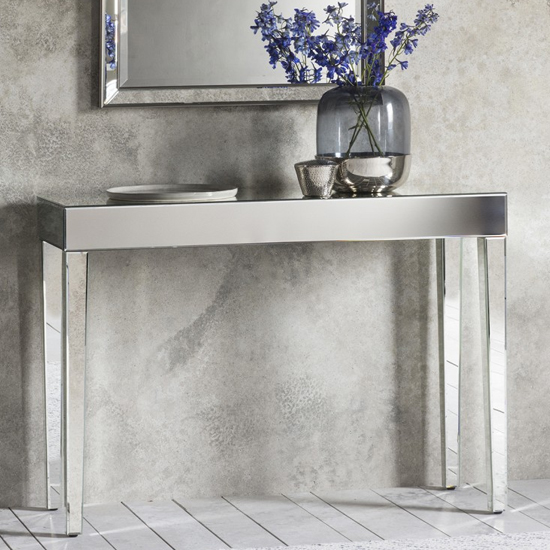 View Sorrento mirrored console table