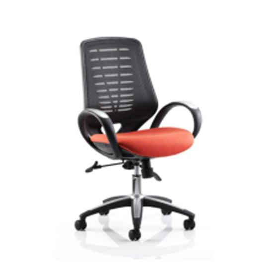 Sprint Airmesh Office Chair Orange