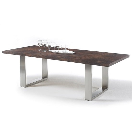 Stone RostOptik Rust STxxEGRV MCA - Reclaimed Wooden Dining Tables & 10 Amazing Decorative Ideas For A Rustic Room