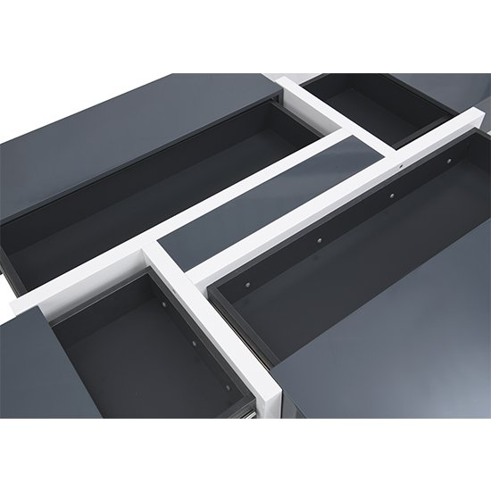 Storm Storage Coffee Table In Grey And White High Gloss_11