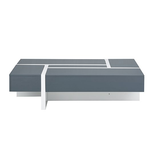 Storm Storage Coffee Table In Grey And White High Gloss_5