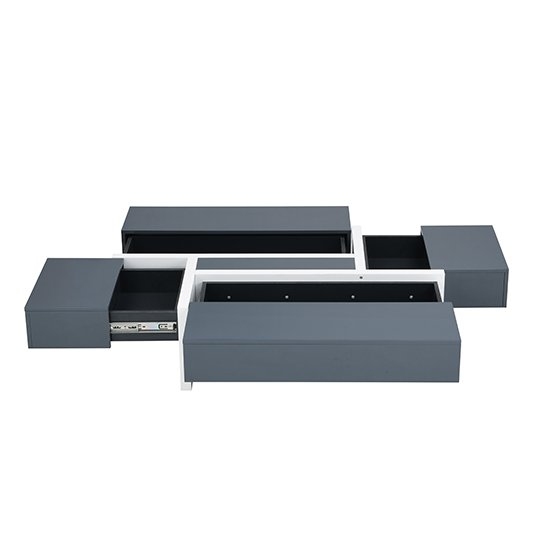 Storm Storage Coffee Table In Grey And White High Gloss_8