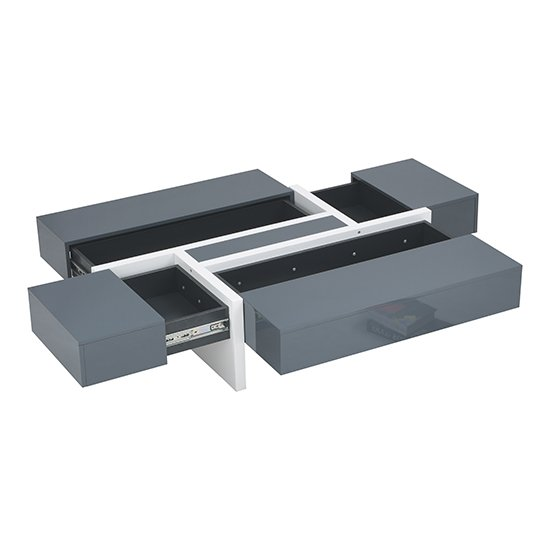 Storm Storage Coffee Table In Grey And White High Gloss_9