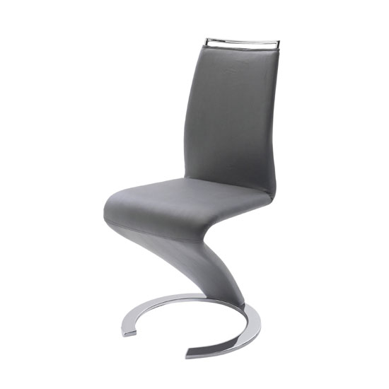 shape grey faux leather modern dining chair buy modern dining chairs