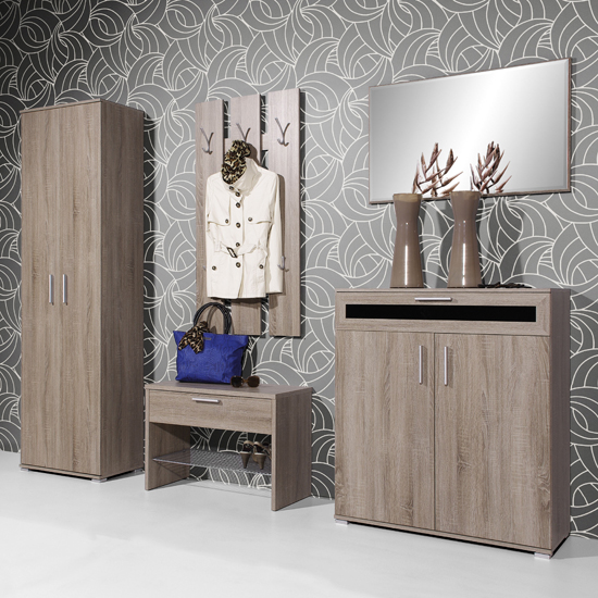 Read more about Super dark oak hallway furniture