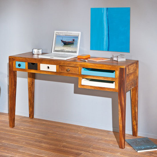 Buy cheap Solid wood computer desk - compare Office