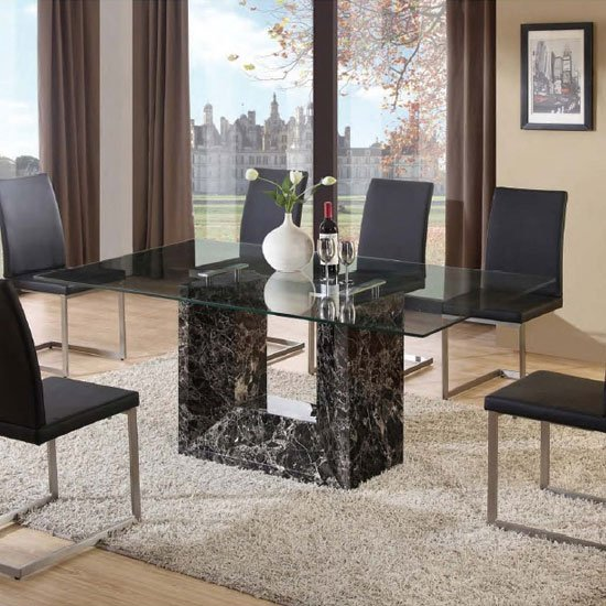 Tempo Dining Table - Going with Italian living room furniture: 4 Decoration tips