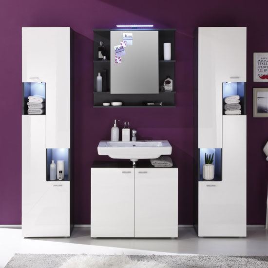 Tetis Bad 1330 901 03 gesch - Free Standing Bathroom Furniture UK Stores Can Offer You