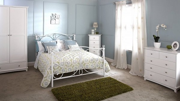 Toulouse White Bedroom Furniture Collection Bedroom Ideas - Toulouse bedroom furniture white
