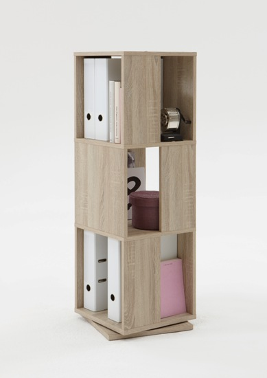 Marvelous Revolving File Storage Tower In Canadian Oak
