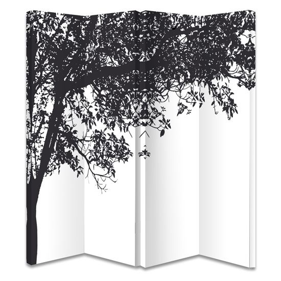 Tree screen 008148 - 6 Creative Room Dividers Ideas For Studios