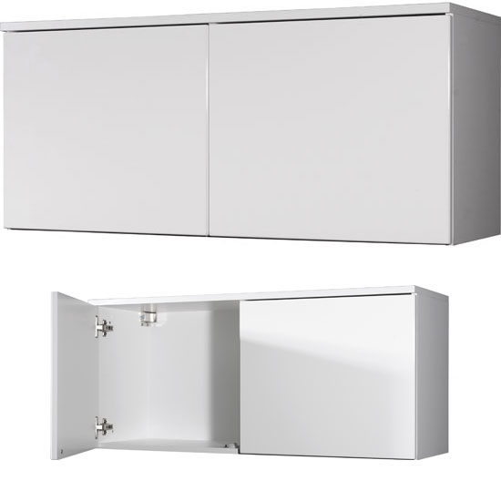 Read more about Trento 2 door white high gloss top cabinet