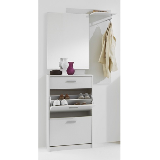 Treviso White Hallway Stand 473 001 - Coat Racks & Umbrella Stands: Entryway Furniture Styles That Are Always In Trend