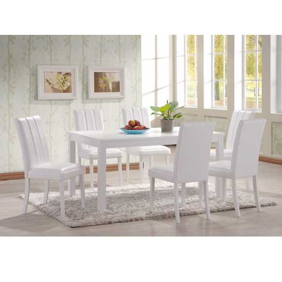Trogon Dining Table With 6 Chairs
