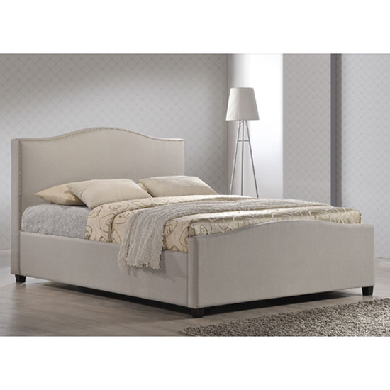 Tuxford Sand Fabric Finish Double Bed