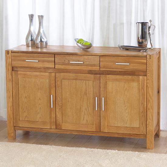 milan oak modern sideboard 14099 furniture in fashion. Black Bedroom Furniture Sets. Home Design Ideas