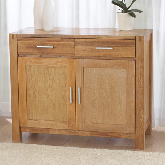 Milan Oak Small Sideboard