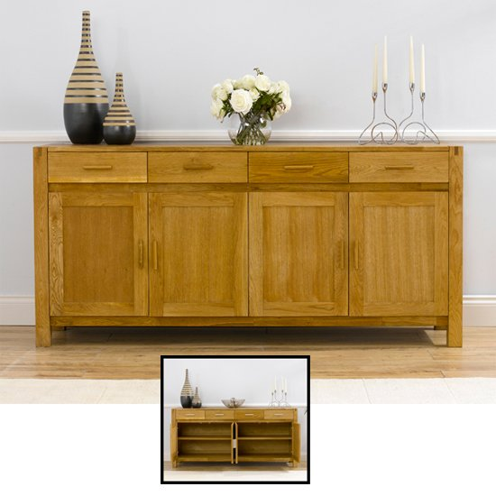 Milan Oak Buffet Sideboard