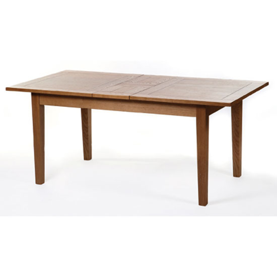 Vermont extending dining table in ash wood 6485 furniture - Extending wood dining table ...