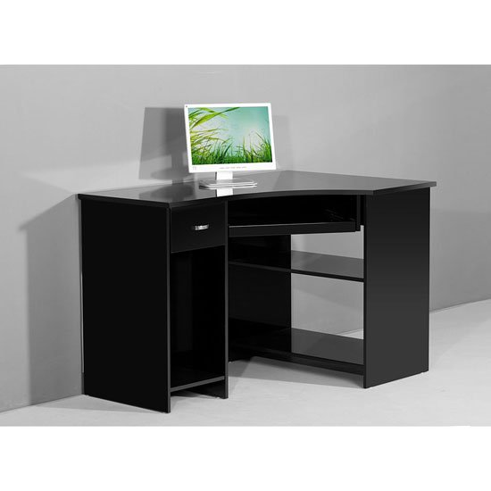 Buy Modern High Gloss Computer Desk Furniture In Fashion