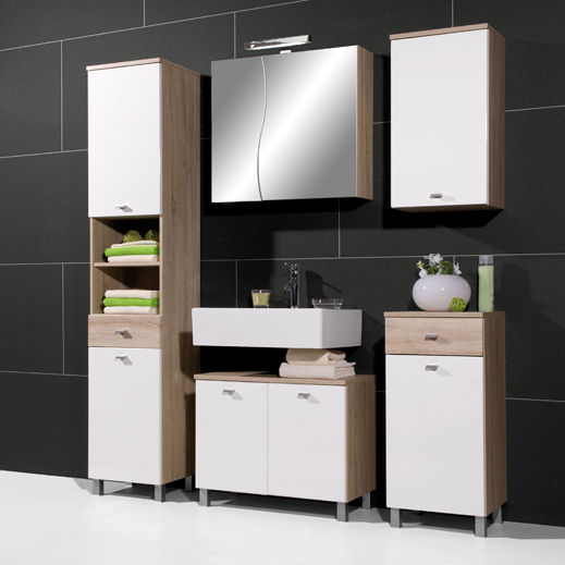 Perfect The 23 Bathroom Vanity Set By Legion Furniture Has A Wood  3 Pre Drilled Holes For 4 Spread Faucets Sink Attaches With Double Sided Tape There Is Storage Space Available In The Cabinets For The Vanity Set Back Of The Cabinet Is Open To