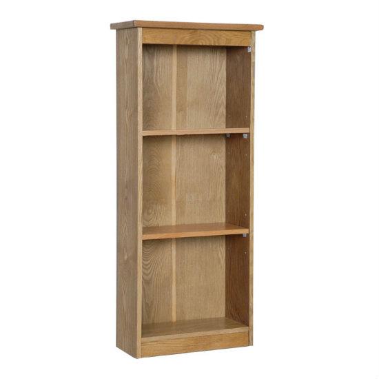 Vermont Low Narrow Bookcase