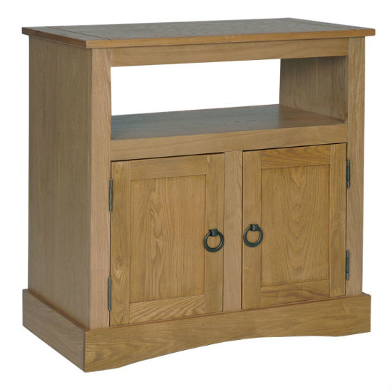 Vermont Wooden TV Cabinet With 2 Doors
