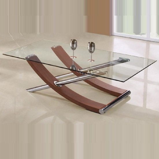 Virgo CT Walnut - The Future Of Coffee Tables From Furnitureinfashion: 9 Amazing Trendy Models
