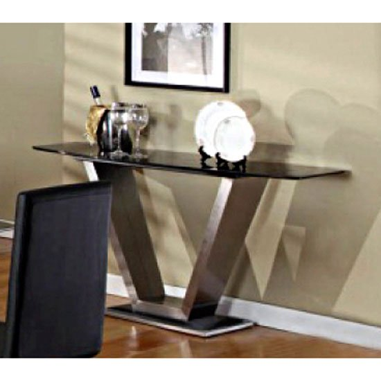 Viva console table - Glass Top Dining Tables, Beauty and Functionality
