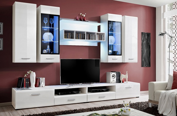 high gloss white living room furniture white high gloss living room furniture 27047