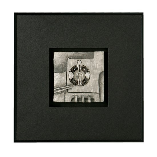 Wall Art Black Boxed Silver 2800418 - Types of Wall Art For Bedroom