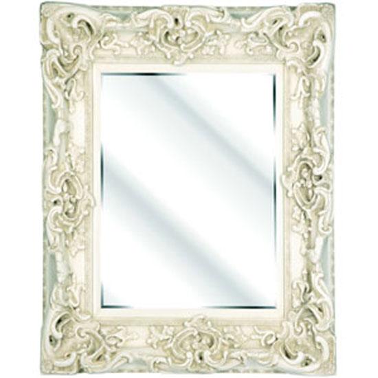 Ornate cream bevelled mirror 11663 furniture in fashion for Furniture in fashion