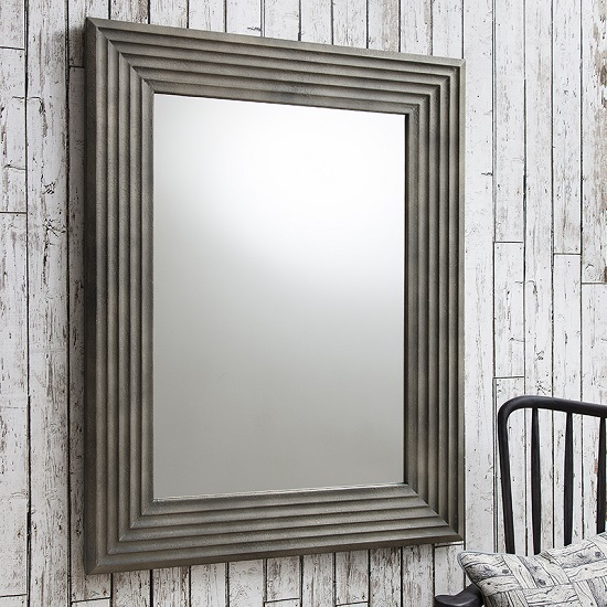 Wilbur Wall Mirror Concrete Gallery1 - Wall Mirrors For Lounge: 7 Ideas To Give The Room A Memorable Look