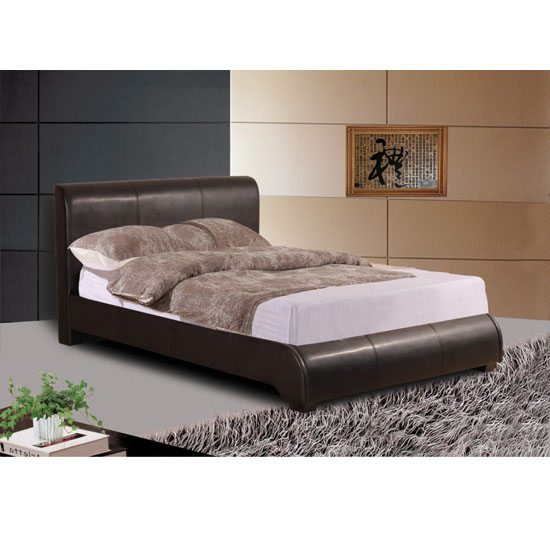 Wilton PU Faux Leather Bed