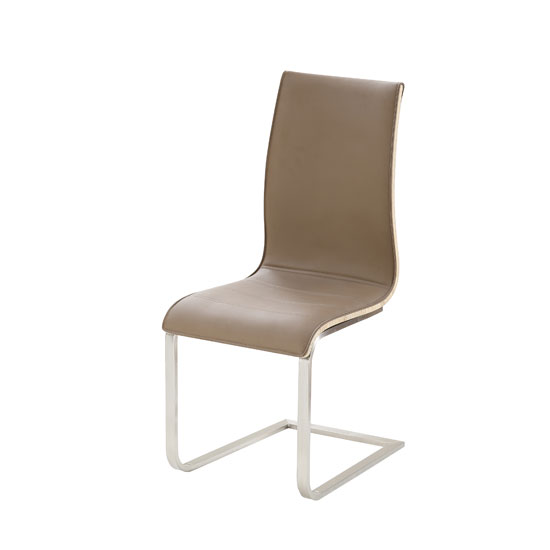 Buy cheap Brown leather dining chair - compare Furniture prices for