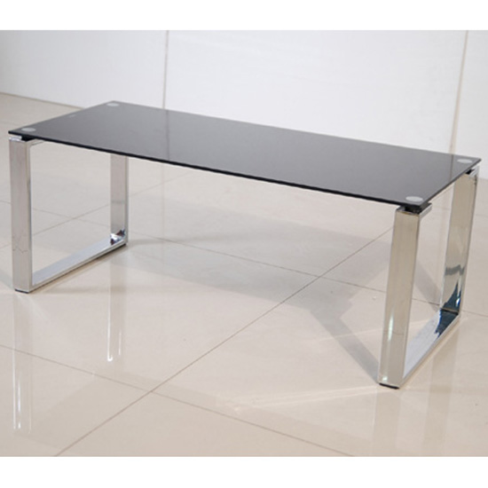Zeus Black Glass Coffee Table