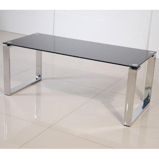 Zeus Black Glass Coffee Table