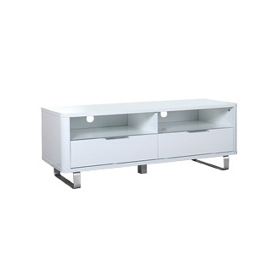 Accent Wooden Sideboard In White With 2 Doors