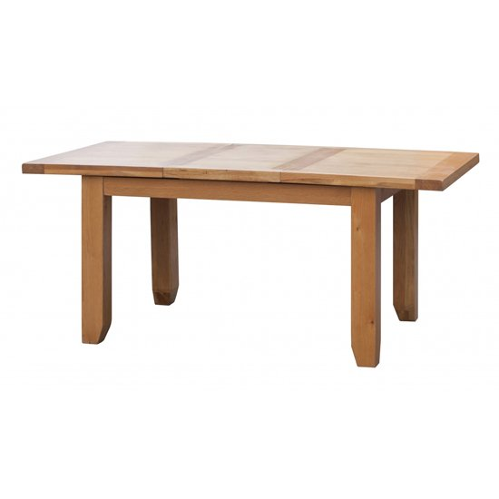 Acorn Large Extending Wooden Dining Table In Light Oak