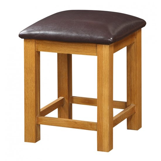 Acorn Wooden Dressing Table Stool_1