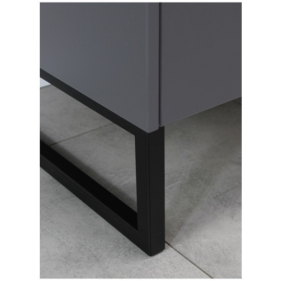 Adah Large Lowboard TV Stand In Graphite And Stone Grey_4