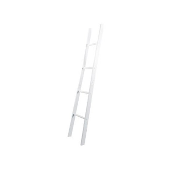 Adamo Wooden Towel Ladder In White