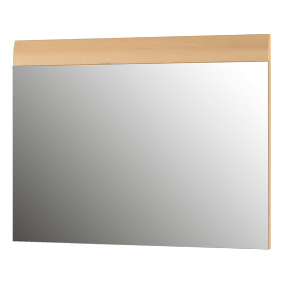 Adrian Wall Bedroom Mirror With Noble Beech Frame