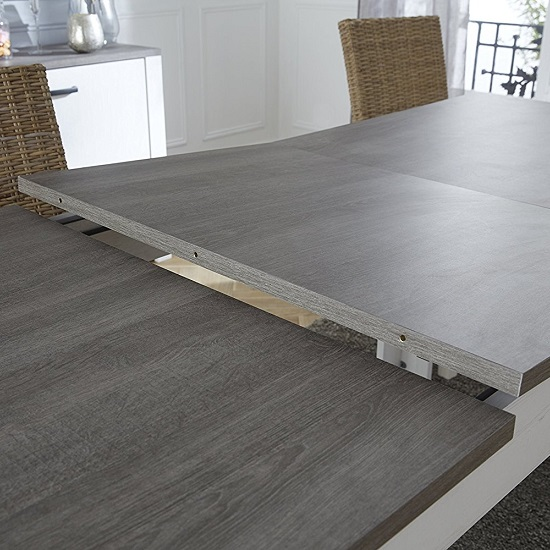 Adrina Extendable Dining Table In Prata Oak And Andersen Pine_2